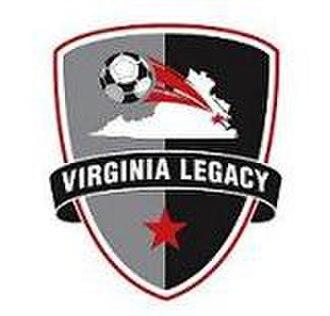 Legacy 76 - Virginia Legacy crest 2007–09