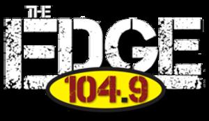 WBXX (FM) - Image: WBXX theedge 104.9 logo