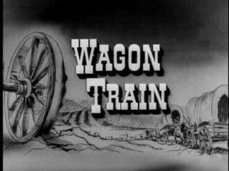 Wagon Train - Title card