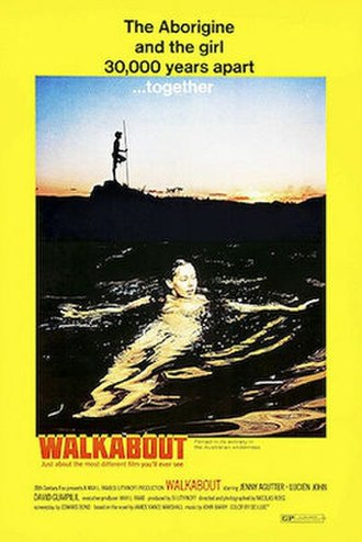 Walkabout (film) - US film poster