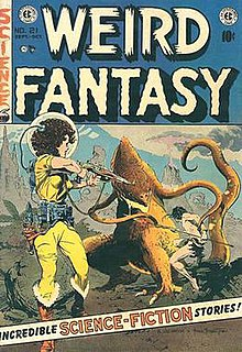 <i>Weird Fantasy</i> Dark fantasy and science fiction anthology comic