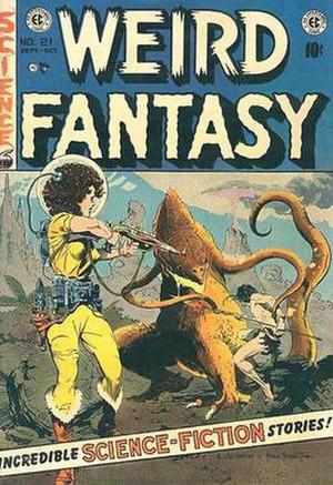 Weird Fantasy - Image: Wfantasy 21