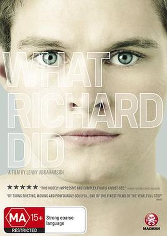 What Richard Did - Image: What Richard Did DVD cover