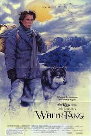 White Fang (1991 film) - Promotional film poster