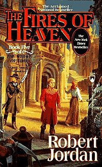 Original cover of The Fires of Heaven