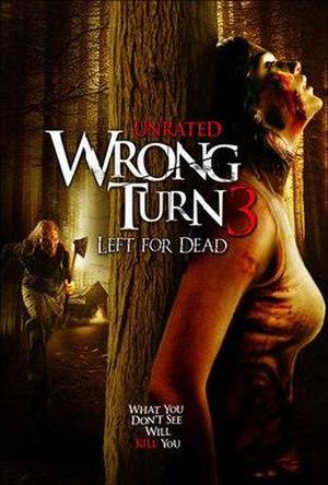 Wrong Turn 3: Left for Dead - DVD cover
