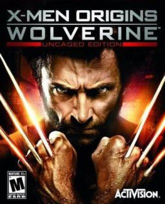 X-Men Origins: Wolverine (video game) - Cover art used for PlayStation 3, Windows and Xbox 360 versions