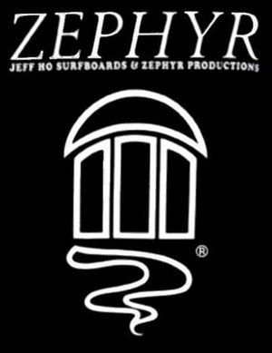 Jeff Ho Surfboards and Zephyr Productions - Image: Zephyrlogo