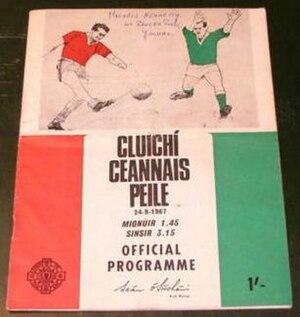 1967 All-Ireland Senior Football Championship Final - Image: 1967 All Ireland Senior Football Championship Final