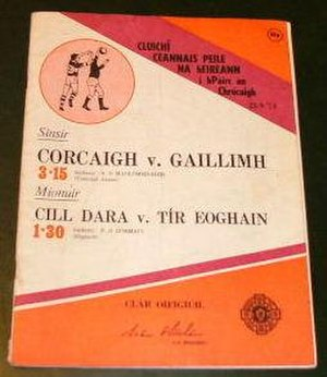 1973 All-Ireland Senior Football Championship Final - Image: 1973 All Ireland Senior Football Championship Final programme