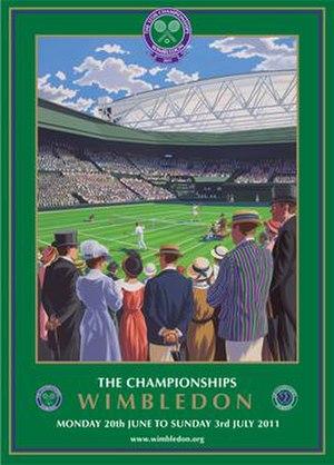 2011 Wimbledon Championships - Image: 2011 Wimbledon Championships poster