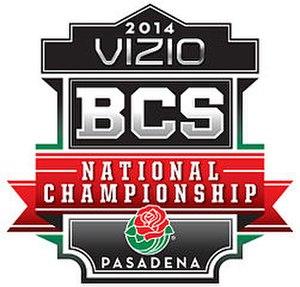 2014 BCS National Championship Game - Image: 2014 BCS Championship logo