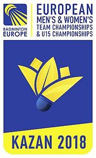 2018 European Mens and Womens Team Badminton Championships badminton championships