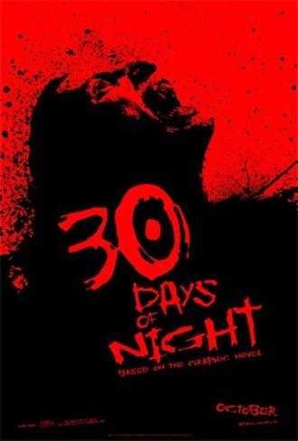 30 Days of Night (film) - Teaser poster