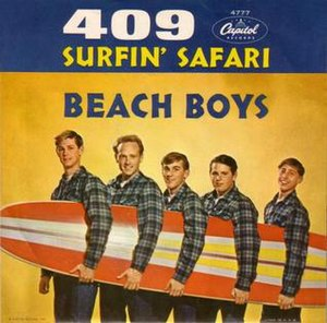 409 (song) - Image: 409 The Beach Boys