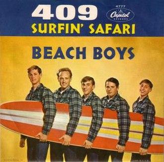 409 (song) - Image: 409 The Beach Boys