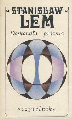 A Perfect Vacuum - First edition (publ. Czytelnik)  Cover by Andrzej Heidrich