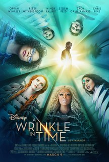 <i>A Wrinkle in Time</i> (2018 film) 2018 film released by Walt Disney Pictures