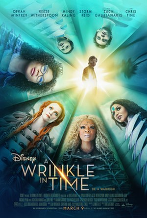 A Wrinkle in Time (2018 film) - Theatrical release poster