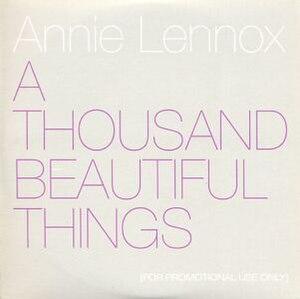 A Thousand Beautiful Things - Image: A Thousand Beautiful Things