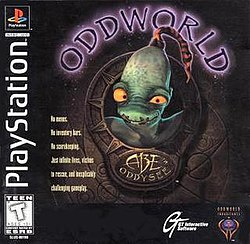Abe's Oddysee cover art