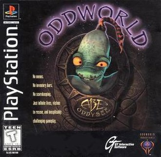 Oddworld: Abe's Oddysee - Image: Abe's Oddysee Cover