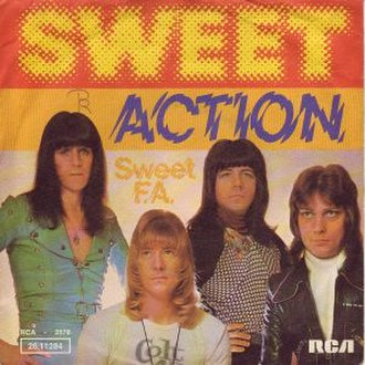 Action (Sweet song) - Image: Action single cover