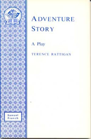 Adventure Story (play) - First edition cover  (publ. Samuel French Ltd.)