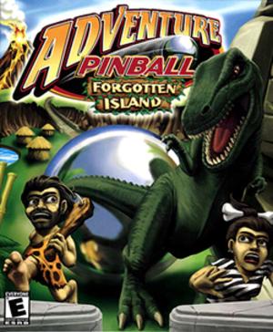 Adventure Pinball: Forgotten Island - Image: Adventure pinball coverart