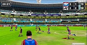 AFL Challenge - Western Bulldogs vs. St Kilda screenshot