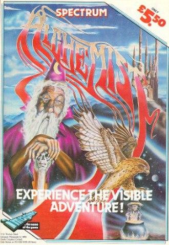 Alchemist (video game) - Image: Alchemist video game cover art