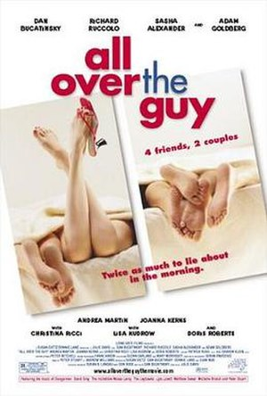 All Over the Guy - Theatrical release poster