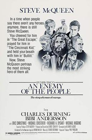 An Enemy of the People (film) - Film poster for An Enemy of the People