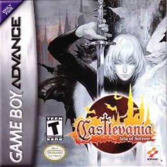 Castlevania: Aria of Sorrow - North American box art