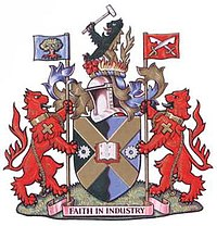 The Arms of the Municipal Borough of Edmonton