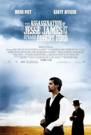 The Assassination of Jesse James by the Coward Robert Ford - Theatrical release poster