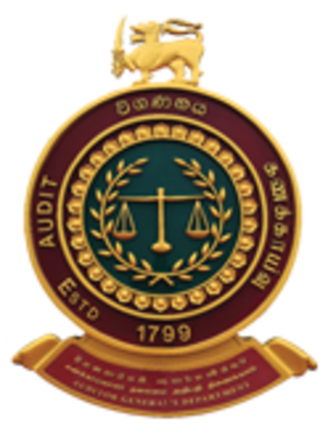 Auditor General of Sri Lanka - Image: Auditor General's Dept SL logo