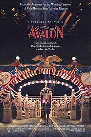 Avalon (1990 film) - Theatrical release poster