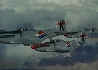 "Battle Hymn (film) - ANG F-51Ds ""stood in"" for the ROK."