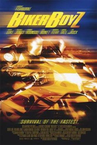 Biker Boyz - Theatrical release poster