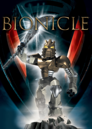 Bionicle: The Game - North American cover art for PlayStation 2