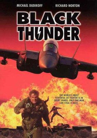 Black Thunder (film) - Image: Black Thunder cover film