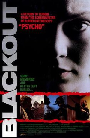 Blackout (1988 film) - Image: Blackout movie poster 1988