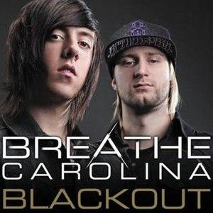 Blackout (Breathe Carolina song) - Image: Blackout single cover by Breathe Carolina