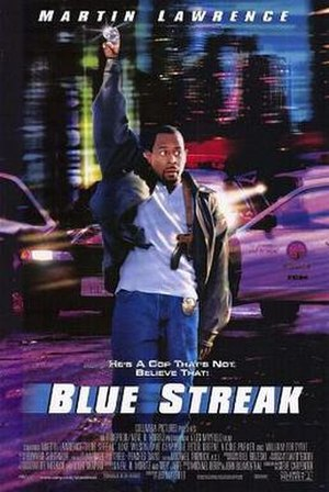 Blue Streak (film) - Theatrical release poster