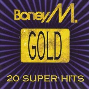 Gold – 20 Super Hits - Image: Boney M. Gold 20 Super Hits
