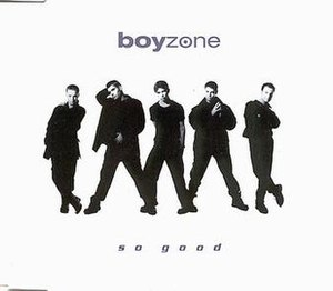So Good (Boyzone song) - Image: Boyzone So Good