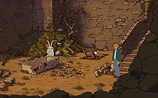 The Goat Puzzle Puzzle in Broken Sword: The Shadow of the Templars