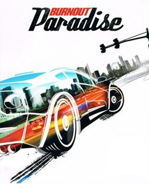 Burnout Paradise - Image: Burnout Paradise Boxart 2