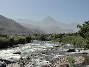 Cañete Province - Cañete River